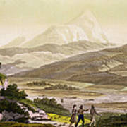 Mount Cayambe, Ecuador, From Le Costume Poster