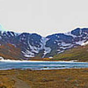 Mount Evans And Summit Lake Poster