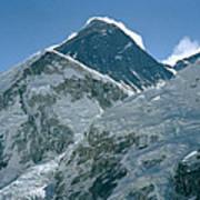 Mount Everest Morning Poster