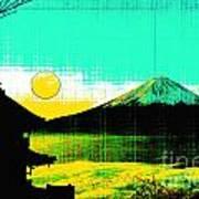 Mount Fiji Poster