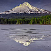 Mount Hood Reflections Poster
