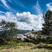 Mount Lovstakken Poster