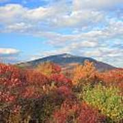 Mount Monadnock From Gap Mountain In Autumn Poster