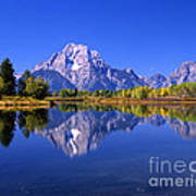 Mount Moran Afternoon Light Poster