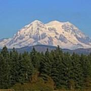 Mount Rainier Washington Poster