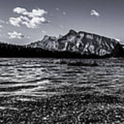 Mount Rundle @ Two Jacks  Poster