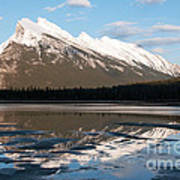 Mount Rundle Reflections Poster