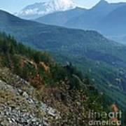 Mount Saint Helens Majesty Poster