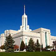 Mount Timpanogos Utah Temple Poster