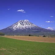 Mount Yotei Volcano Hokkaido Poster