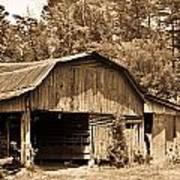 Mountain Barn 1 Poster
