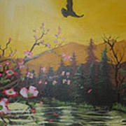 Mountain Bliss Poster