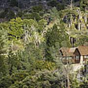 Mountain Cabin - Sierra Nevadas, California Usa Poster
