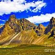 Mountain Crags Poster