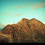 Mountain Face Poster