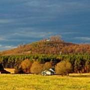Mountain In North Carolina Poster