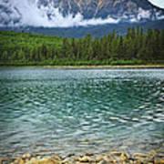 Mountain Lake Poster by Elena Elisseeva