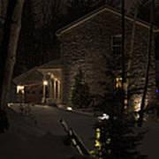 Mountain Lodge Poster