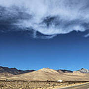 Mountain Range Of Sierra Nevada Poster