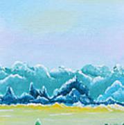 Mountain Range Poster