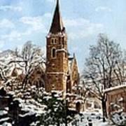 Mountain Sanctuary Poster