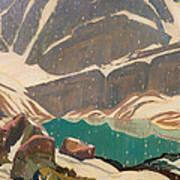 Mountain Solitude Poster