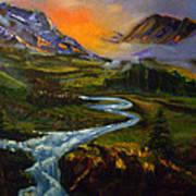 Mountain Streams Poster