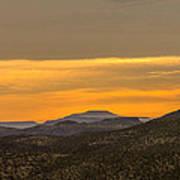 Mountain Sunrise 6-19-14 Poster