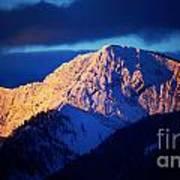 Lizard Range Mountain Sunrise Poster