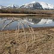 Aboriginal Sacred Sweat Lodge - Waterton Lakes Nat. Park, Alberta Poster