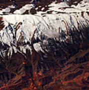Mountains. Aerial. Beauty Of Our Planet Poster