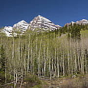 Mountains Co Maroon Bells 23 Poster