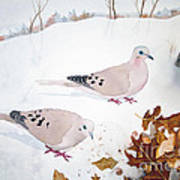 Mourning Doves Poster