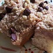Mouthwatering Crumb Cake Poster