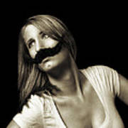 Movember Seventeenth Poster by Ashley King