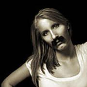 Movember Twentyfourth Poster by Ashley King