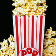 Movie Night Pop Corn Poster