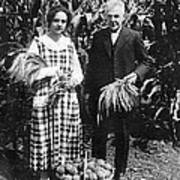 Mr. And Mrs. Luther Burbank Poster