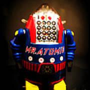 Mr. Atomic Tin Robot Poster