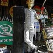 Mr Gas Pump Mechanic Poster by Kim Galluzzo Wozniak