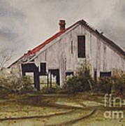 Mr. Munker's Old Barn Poster