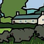 Mrs Hartly's Cottage Poster by Kenneth North