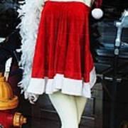 Mrs Santa Manequin Poster