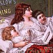 Mrs Winslow's Soothing Syrup Poster