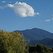 Mt Ashland In Late Summer Poster