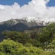 Mt. Aspiring National Park Mountains Poster