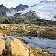 Mt Baker Washington State Poster