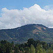 Mt Baldy Panorama From Grants Pass Poster