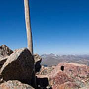 Mt. Bierstadt Summit Poster