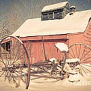 Mt. Cube Farm Old Sugar Shack Poster